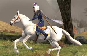 Rohan Rider charging